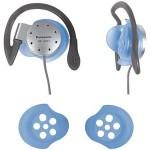 panasonic water resistant lightweight sport clip headphones