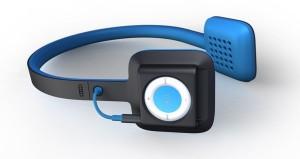 ODDIO1 Combines iPod Shuffle with Headphones
